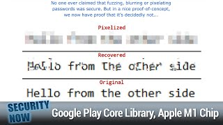 Amazon Sidewalk - Google Play Core Library, iOS Zero-Click Radio Proximity Exploit, Apple M1 Chip