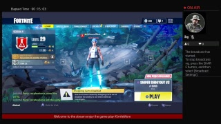 Playing FORTNITE  {PS4 Stream}