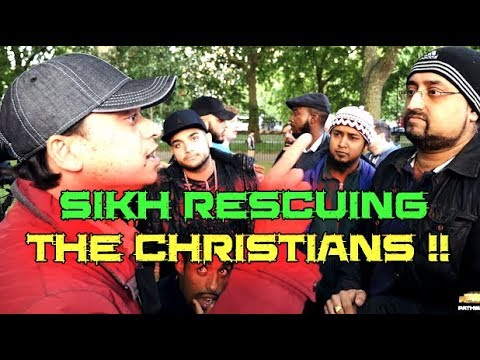 Speakers Corner: [ 17-09-17 ] Br-Mansur VS the Sikh who came to rescue the christians