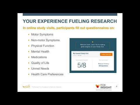 """Webinar: """"Fox Insight: Your Experience Fueling Research"""" November 2017"""