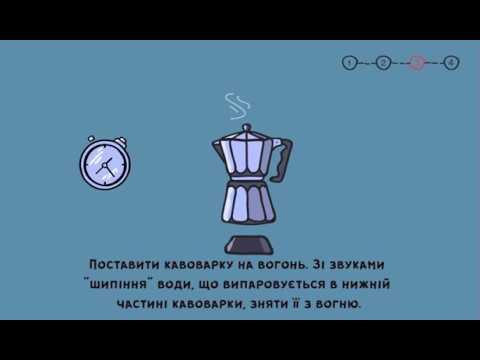 У гейзерній кавоварці