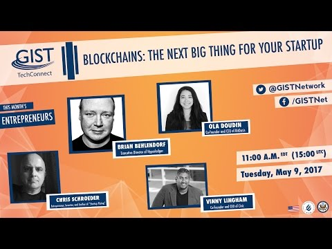 GIST TechConnect: Blockchains