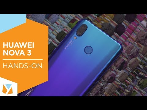 Watch: Huawei Nova 3 Unboxing, Hands-on