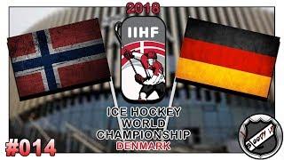 EISHOCKEY WELTMEISTERSCHAFT 2018 [Deutsch/German] #014 - Deutschland - Norwegen ★ IIHF 2018