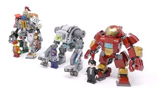 Gambar cover LEGO - Mini HulkBuster And New Challengers (Mech Fight Club Part2) - Stop Motion Build