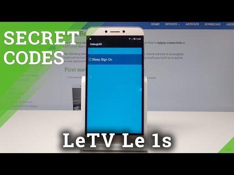 Secret Codes LeTV Le 1s - Hidden Modes / Service Menu
