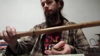 Про настройку бамбуковых флейт