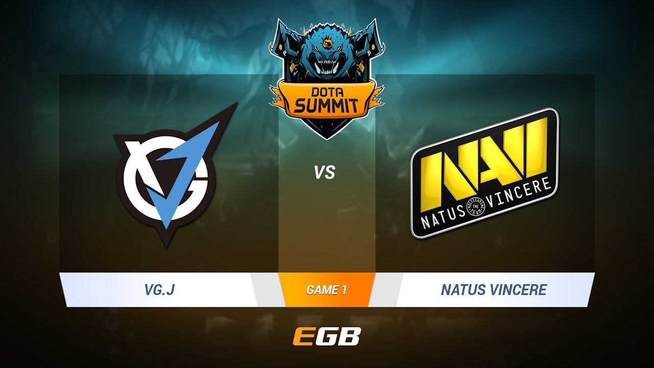 VG.J vs Natus Vincere, Game 1, DOTA Summit 7 LAN-Final, Day 2