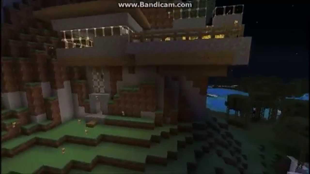 Minecraft Mountainside Survival House