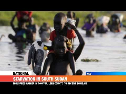 #PMLIVE: STARVATION IN SOUTH SUDAN