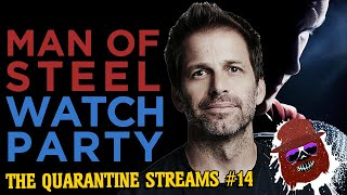 Man Of Steel Watch Party With Zack Snyder Commentary