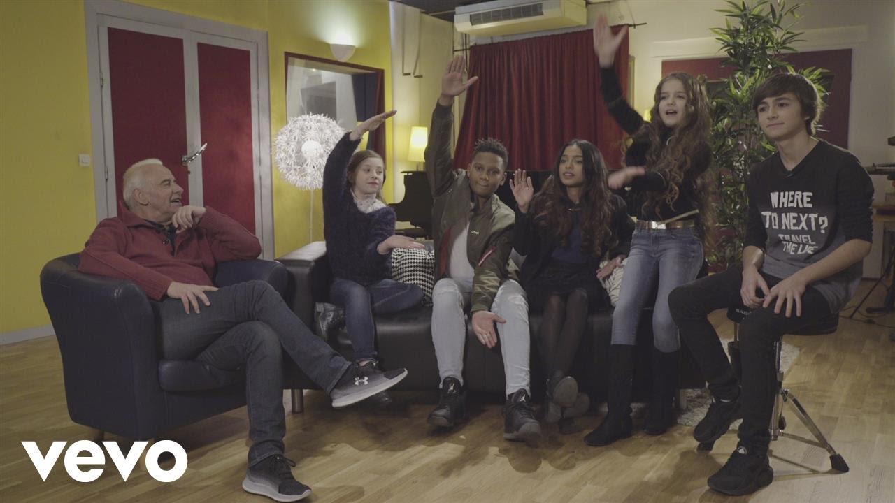 kids united chante love michel fugain teaser youtube. Black Bedroom Furniture Sets. Home Design Ideas