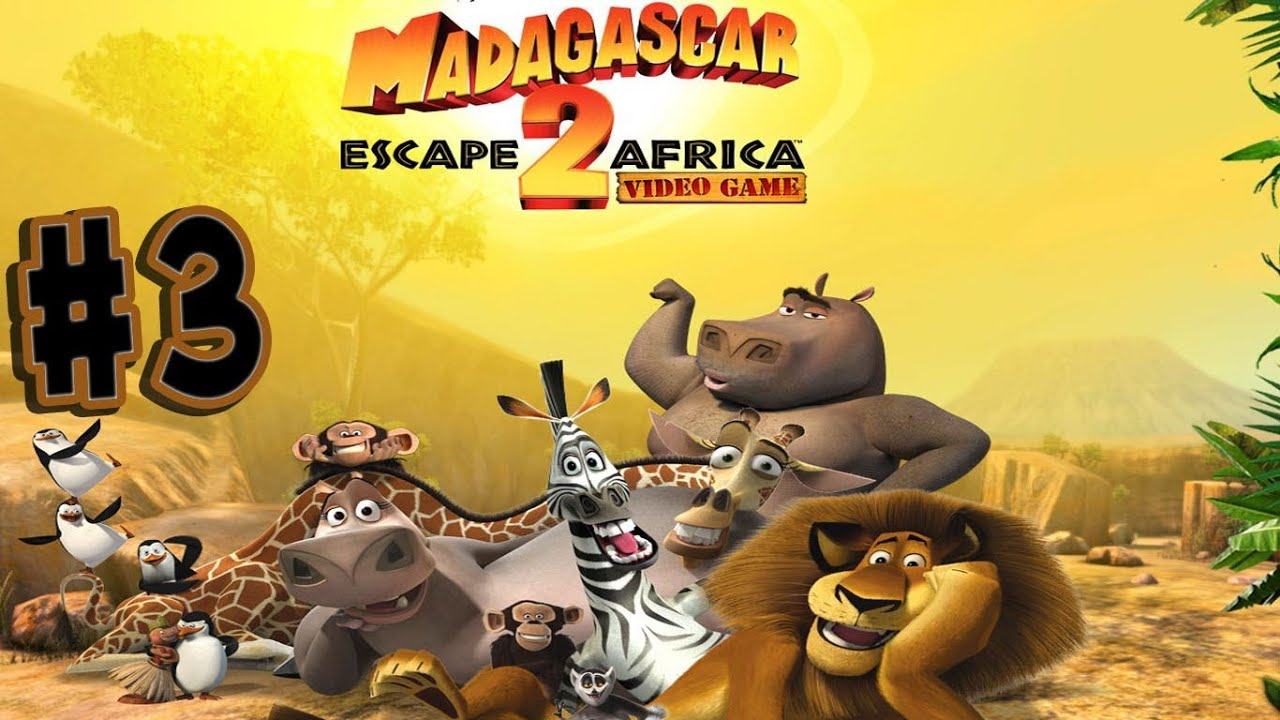 Ps3 Animated Wallpaper Madagascar Escape 2 Africa Walkthrough Part 3 Up To