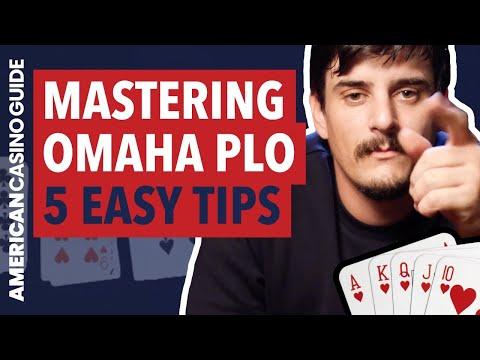 5 Tips for Playing Omaha