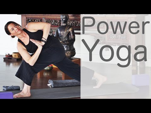 30 Minute Power Yoga With Fightmaster Yoga