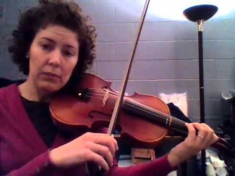 Emerald Falcon Violin 1-1