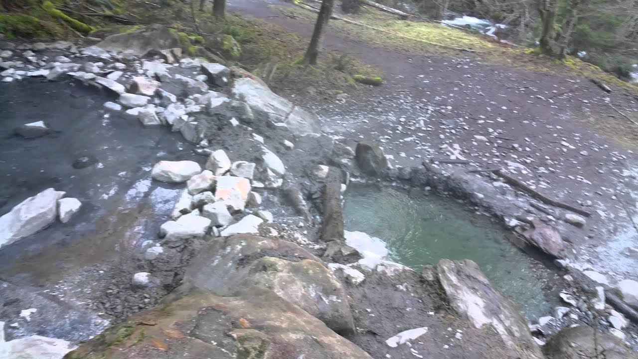 Olympic Hot Springs Path