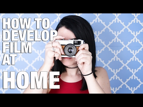 How To Develop Film At Home - YouTube