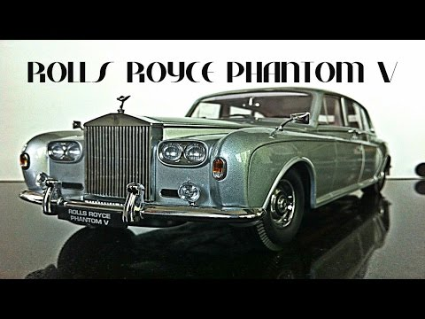 Rolls Royce Phantom V 1:18 Paragon models
