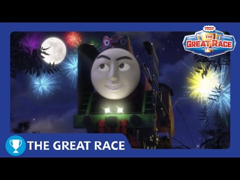The Great Race: Yong Bao of China | The Great Race Railway Show | Thomas & Friends