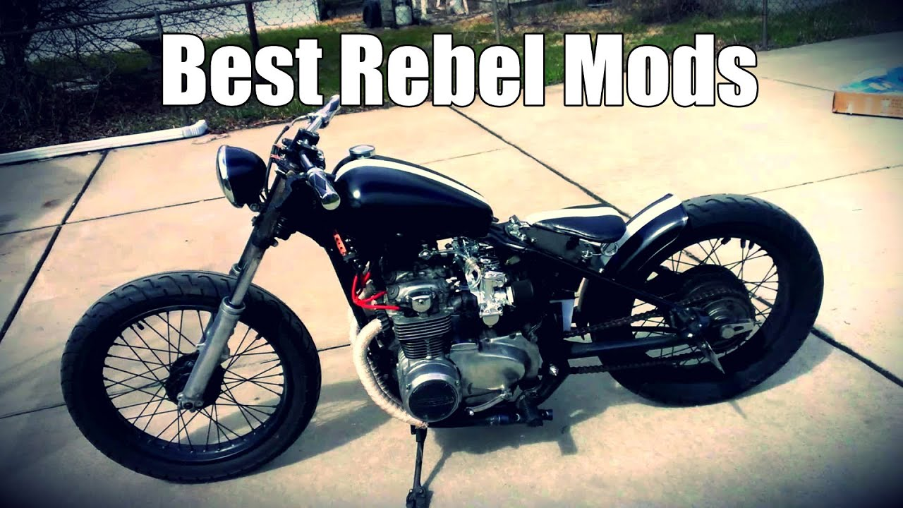 top 5 mods for the honda rebel 250 youtube. Black Bedroom Furniture Sets. Home Design Ideas