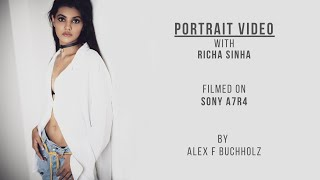 Portrait Video with Actress Richa Sinha | Sony A7R4 | A Fashion Video by Alex F Buchholz