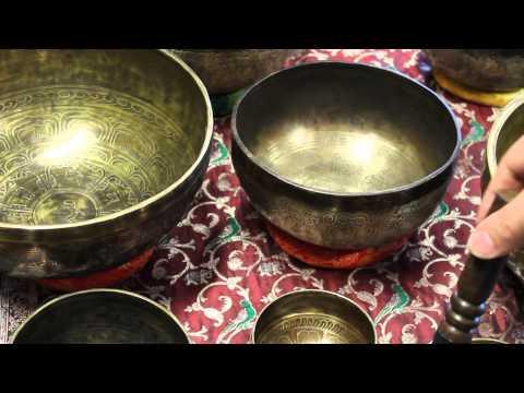 Кованые поющие чаши тибетские и непальские