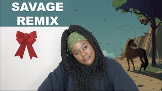 Download lagu Megan Thee Stallion, Beyoncé - Savage Remix  REACTION 