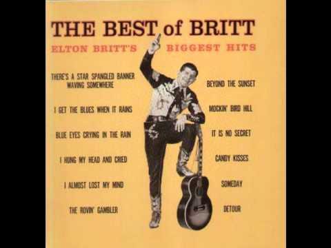 Elton Britt - The Rovin' Gambler - One For The Wonder