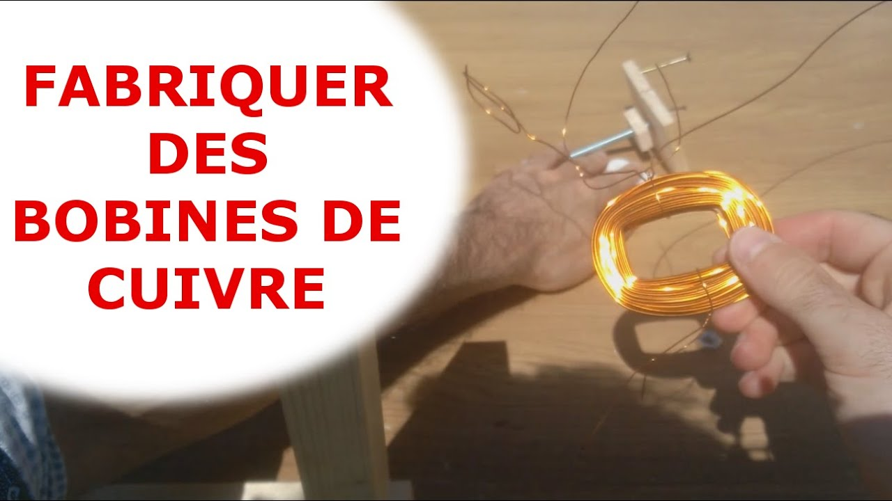 fabriquer des bobines de cuivre pour g n rateur aimants permanents youtube. Black Bedroom Furniture Sets. Home Design Ideas