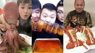 Thánh Ăn TQ P8 | Ăn Bạch Tuộc, Tôm Hùm, Tỏi Tươi... | Thích Ăn Uống