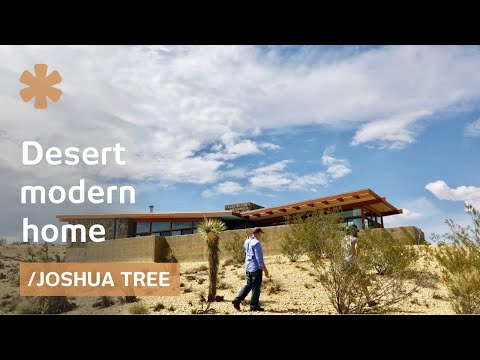 On building one's own dream home as an 8-year desert odyssey