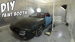 $200 DIY Paint Booth