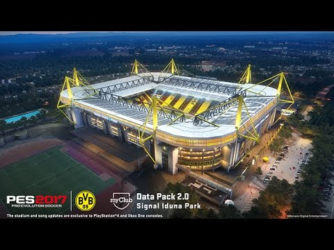 signal iduna park fifa 17 vs pes2017 youtube. Black Bedroom Furniture Sets. Home Design Ideas