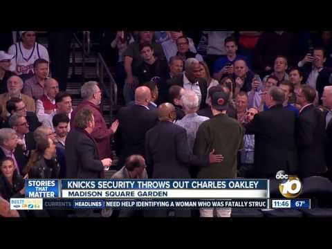 Former Knick Oakley ejected, arrested after Madison Square Garden altercation