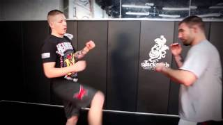 MMA techniques- Question Mark Kick