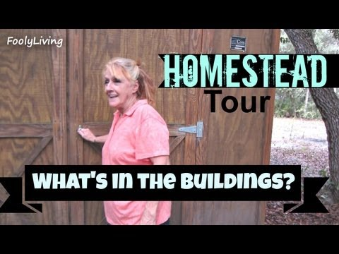 HOMESTEAD TOUR - What's In the Buildings? - FoolyLiving