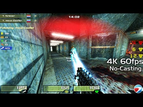 Forever vs Cooller ESWC 2006 (No Cast) Quake4 Duel Bronze-Final Creative-EAX Sound 4k60fps