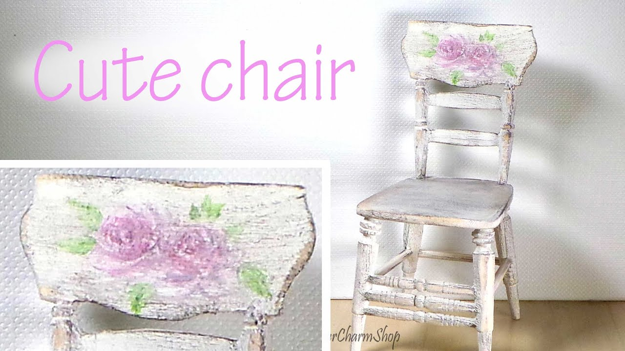 No Sew Chair Pockets Pier One Imports Cushions Miniature Furniture Romantic Style Vintage Tutorial