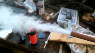 Repeat youtube video DIY cold smoke generator for food smoking 1 of 2