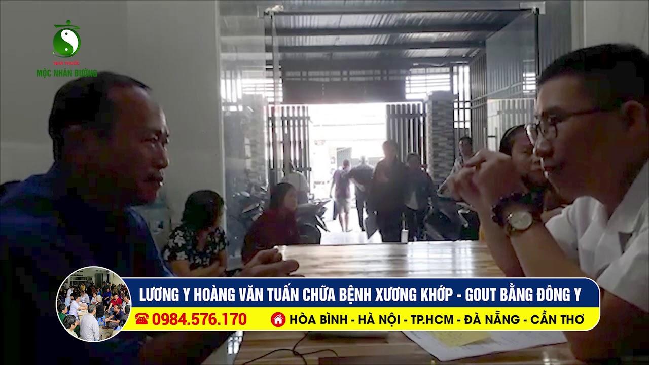 bệnh nhân bị gai gót chân, đau khớp ngón tay, máu mỡ, tìm đến lương y Tuấn l CN Hồ Chí Minh