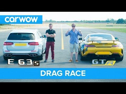 Mercedes-AMG E63 S vs GT R - DRAG RACE, ROLLING RACE & BRAKE TEST | Mat vs Shmee pt 2/4