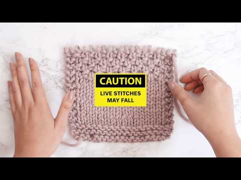 How to UNRAVEL KNITTING the RIGHT WAY (3 Methods)