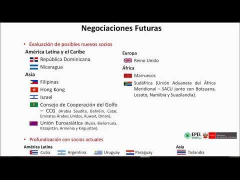 Acuerdos Comerciales De Perú Y Negociaciones Futuras
