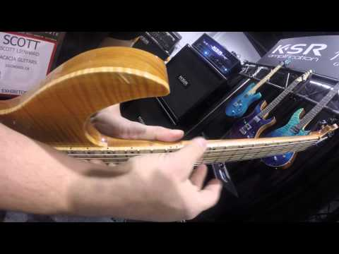 NAMM 2015 - ACACIA Guitars I GEAR GODS