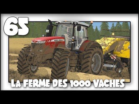 FARMING SIMULATOR 2017 🔷 LES 1000 VACHES 🔷 MON TRACTEUR !!!