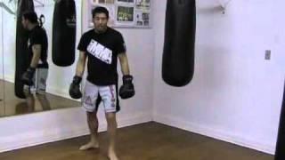 Punching the Heavy Bag – Boxing Basics – The Cross