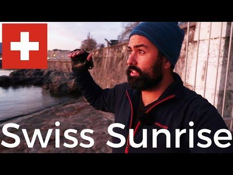 Landscape Photography   Sunrise In Geneva Switzerland