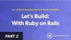 02 - Create Meetings  - Let's Build: With Ruby on Rails - Event Scheduling App with Payments