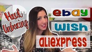 #Haul Noviembre #Wish #Aliexpress #Ebay #Primark   Heidither